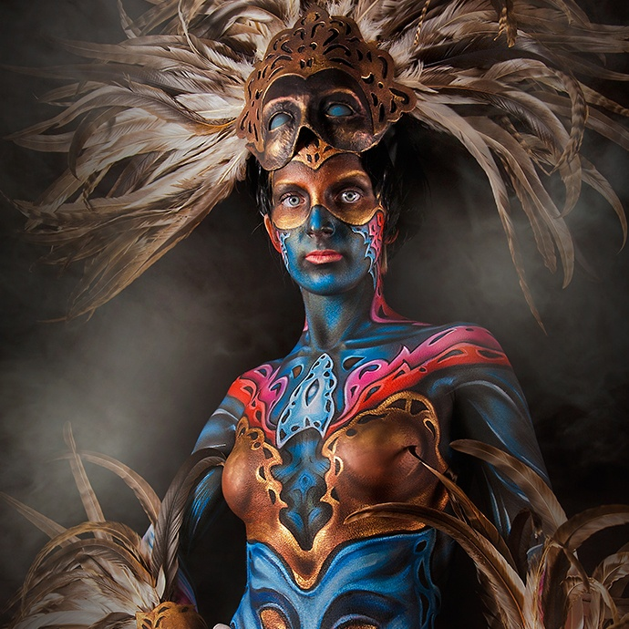 body-paint-1 Major Web Design Wales Llantwit Major Barry Cardiff Bridgend