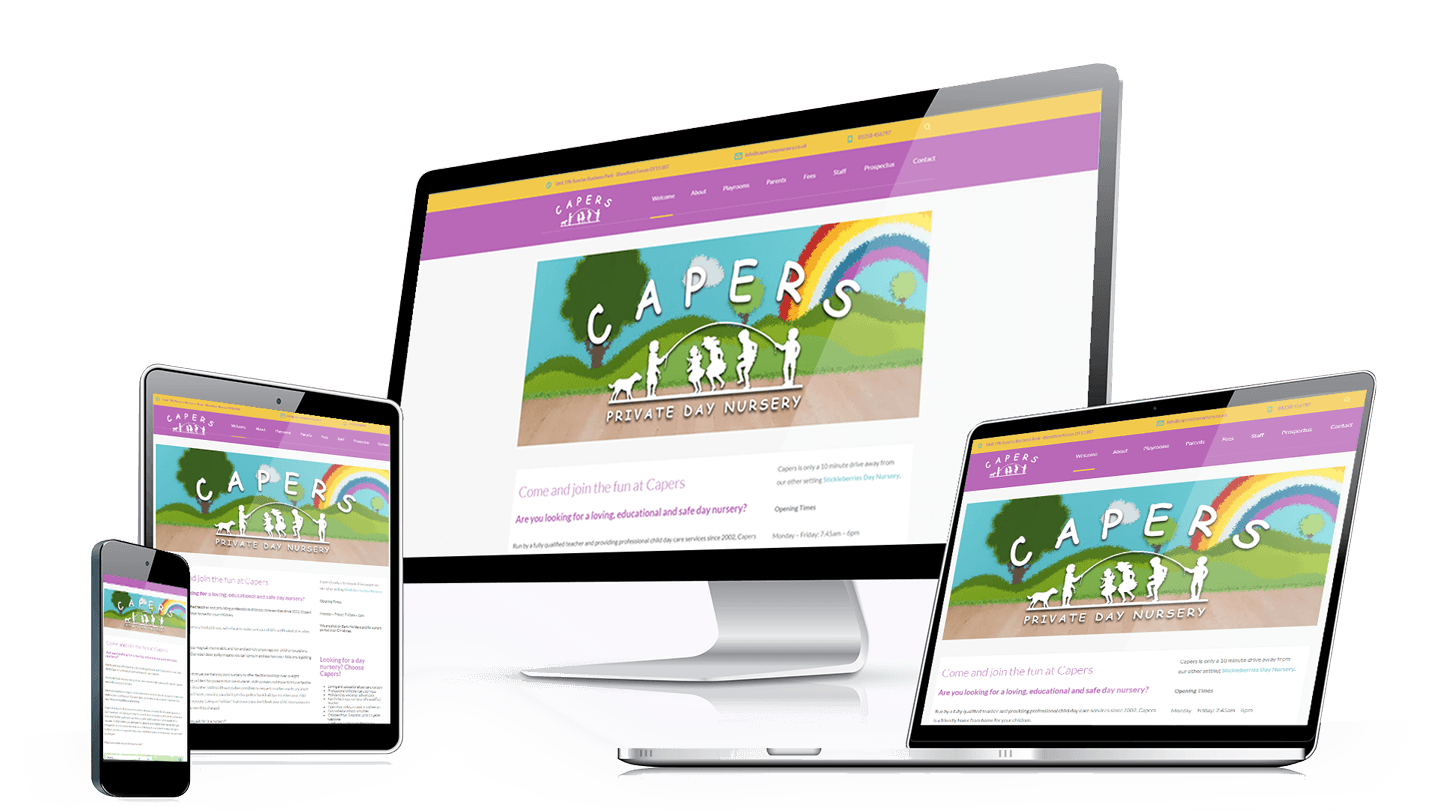 responsive-capers Major Web Design Wales Llantwit Major Barry Cardiff Bridgend