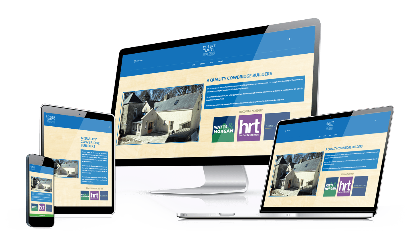 responsive-robert-toutt Major Web Design Wales Llantwit Major Barry Cardiff Bridgend