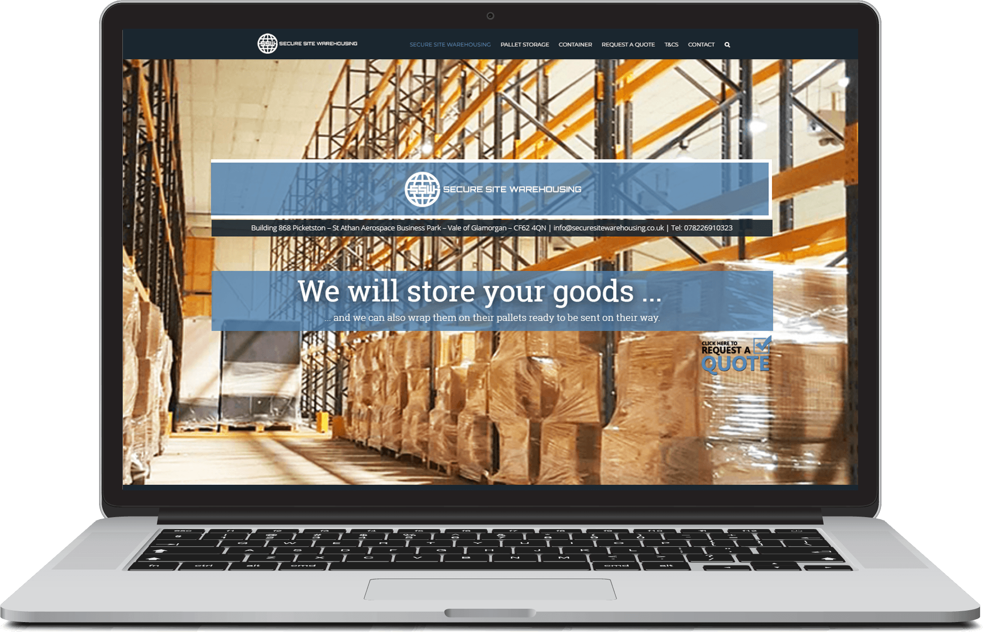 secure-site-warehousing Major Web Design Wales Llantwit Major Barry Cardiff Bridgend